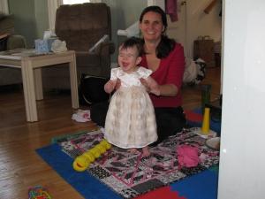 Trust me - that is her happy look!