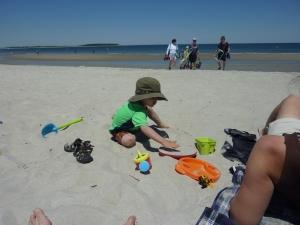 More beach time!