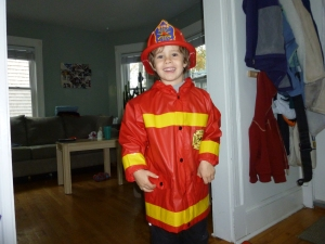 Our firefighter!