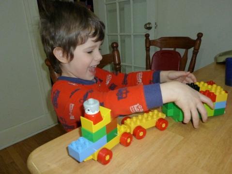 Make a train!