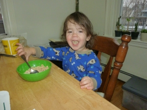 IP also likes to EAT CHEERIOS!!