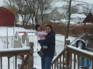 Thanksgiving Snow!