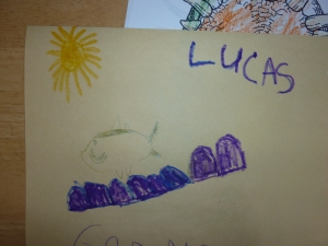 Some of LP's artwork to go with his writing!