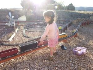 Train girl!