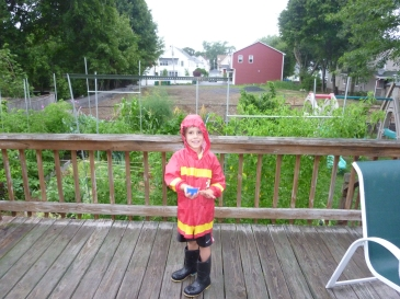 When LP decides to play in the rain, he plays in the rain!