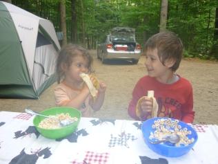 Camping buddies!